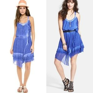 Free People Aphrodite Festival TieDye Ruffle Dress
